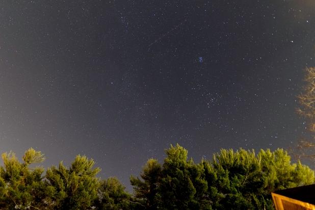 Taurus and comet Wirtanen